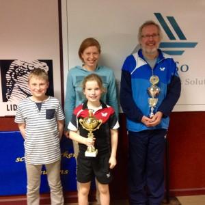 Clubkampioenen: Keo Hermans en Michel Mentens