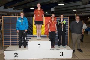 Hanne Belgische Kampioene